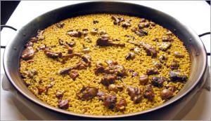 Arroz con caracoles de Albacete
