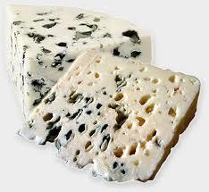 Caracoles al queso azul