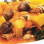 Cazuela de caracoles