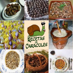 Recetas de caracoles y salsas